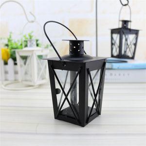 2 colores Tenedor de velas Originalidad Moda Metal Candelabra Romántica Sencillez Iron Art Desktop Candlestick Wedding New Llegada 5 8Hz K2