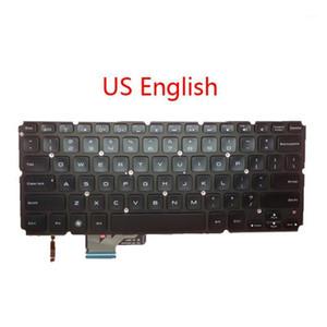 Laptop arkadan aydınlatmalı ABD SW Klavye için XPS 14 L421X 15 L521X Ti SP BR La UK JP İngilizce İsviçre İspanyol Brezilyalı Latin Amerika1