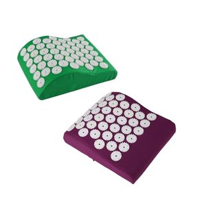 Acupressure Cushion Acupuncture Relieve Stress Back Pain Massage Mat Pillow Massage Mat for Car Office Chair