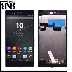 Original 6.44 '' para Sony Xperia Z Ultra XL39H XL39 C6833 C6802 Pantalla LCD Pantalla táctil Conjunto digitalizador con marco