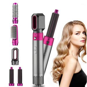 Secador de sopro com pente um passo secador de cabelo e volume 5 em 1 cabelo multifuncional escova de ar quente Secador de cabelo Ferramentas1