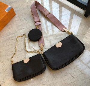Women handbag messenger shoulder bags chain bag good quality leather purses ladies bag 3 unids set 9913