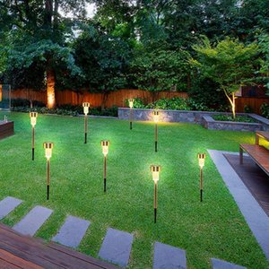 24 PCS LED Solar Powered Outdoor Lawn Lights for Garden Path Landscape US Stock
