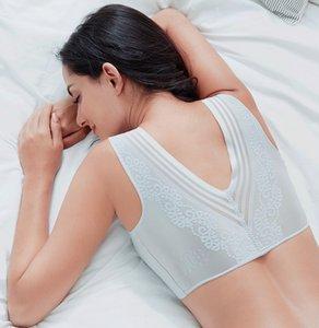 Meizimei sexy beauty back seamless padded bras for women vest sleep bralette sports brassiere top bh plus size M 7XL lingerie Y1120