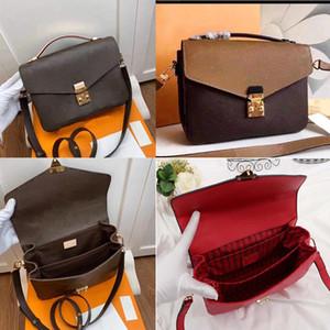 2020 new women's leather handbags, female mothers, designers, women's hands, slanting back, delivery, one-shoulder bag, M41465 M44875