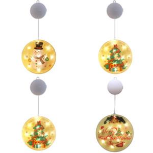 Stickable LED Lámpara de la lámpara de la casa adecuada para el concierto Etapa comercial Edificio Feliz Navidad Feliz Navidad Luces de colores Nuevo 10 5sy J2