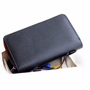 Psuqd Bag Leather Women Style Men Clutch Real Wallet Business Luxurys Long 23x15x Purses 4cm With Zipper Designers Mens Fmofo