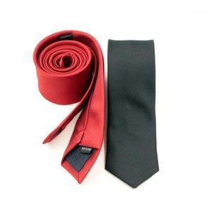 5cm 스트라이프 남자 레저 슬림 화살표 넥타이 스키니 대각선 고체 고품질 공식 좁은 넥타이 웨딩 1