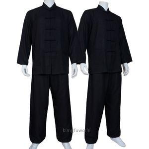 Мягкий хлопок бленды Tai Chi костюм Ушу Кунг-фу Одежда Wing Chun Uniform Jacke и штаны