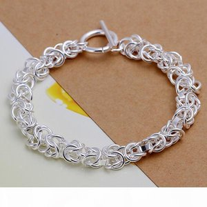 K Stone Mandrel Hanging Space Butterfly Rose Sterling Silver Bracelet 8 Pieces Mixed Style Gtb33 Hot Sale Women &#039 ;S 925 Silver Bra