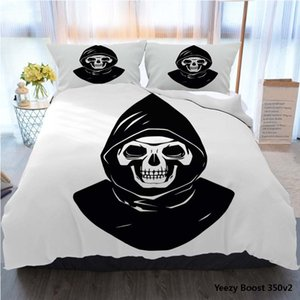 Designer Bed Comforters Sets Luxury 3PCS Home Bedding Set Reaper Bed Cover With Pillowcase