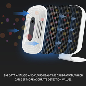 FreeShipping WIFI Smog Meter CO2 HCHO TVOC Air Quality Analysis Tester Detector Sensor Temperature Humidity Monitor Alarm system