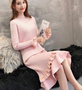 2021 Frühling und Herbst Winter mit neuer Stil Mode Langarm Frauen Pullover Mantel @ 202