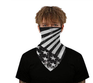 Outdoor Face Cover Cycling Mask Fashion Printed Bib Scarves Multi Functional Seamless Quick Dry Hairband Head Scarf Bandana jllUgxy