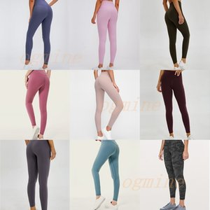 lu lulu lemon lululemon vfu Fitness athletische massive yoga hosen leggings yogaworld frauen mädchen trocknen yoga outfits damen sport frauen hosen training fitness