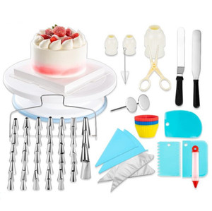 106pcs set Icing Nozzle Set Decorating Tip Sets Cream Pastry Bag Piping Tips Flower Nails DIY Cake Tools Bakeware Kitchen Accessories