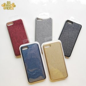 New arrivals recycled PP and fabric cell phone accessories plain western personalized bulk cheap mobile fancy phone cases