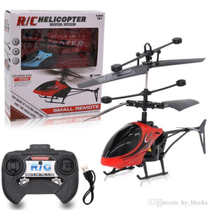 Mini RC Drone Helicopter Infraed Induction 2 Channel Electronic Funny Suspension Remote Control Aircraft Quadcopter Drone Kids Toys