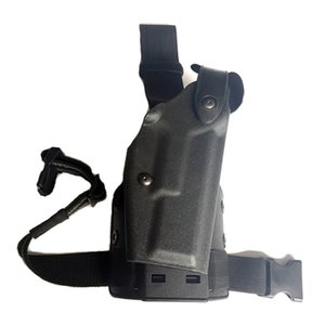 Military Leg Gun Holster for Gl0ck 17 19 22 23 31 Belt Holsters Platform Paddle Safariland for CS Game Army Hunting