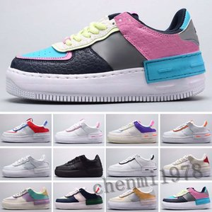 Force one 2020 New WMNS Utility Forcd Candy Macaron Donne Donne Scarpe da donna 1 Shadow Sport Dunnk One Sacai Skateboard Sneakers Size 36-45 c78