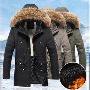 2020 hombres Parkas Chaqueta de invierno espesar cálido con capucha softhell para abrigo suave a prueba de viento SHELL FASHION CASUAL Snow Chaqueta de nieve al aire libre # 40