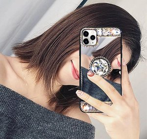 3D Acrylic Sunjolly Mirror Diamond Case для iPhone 11 Pro Max XS MAX XR 8/7 PLUS 6 / 6S PLUS PLUS SE2020 Чехол для телефона BBYXMT BDEPACK2001