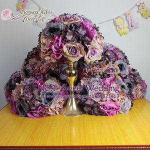 flowers all over gulf new artificial rose flower ball centerpieces for wedding party backdrop decoration