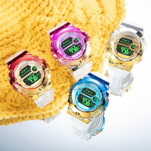 Children LED Electronic Digital Watch Stop Watch Clock Kids Sport Watches Waterproof Wristwatch For Boys Girls