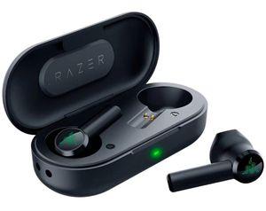 Razer Hammerhead Беспроводные наушники Bluetooth Earbuds Высококачественные звуковые игровые гарнитуры гарнитуры наушники TWS спортивный телефон наушники в розницу