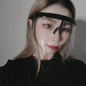 Protection solaire anti-spray MIROIR Demi-masque du visage Lunettes Bouclier Protecteur pour l'extérieur Accessoires moto