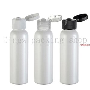 free shippingfree shipping 60ml white round shoulder flip top perfume oils bottle wholesale suppliers 50pcs lot