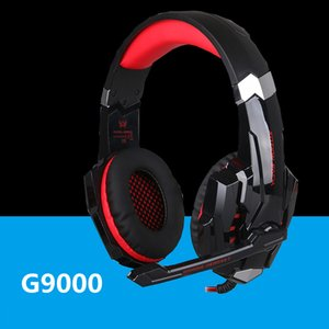 New Cheap Kotion Each G9000 Gaming Headset Headphone 3.5mm Stereo Jack with Mic LED Light for PS4 Tablet Laptop Cell Phone DHL