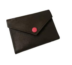 2020 Sıcak Satış Kadın Tasarımcı Harfler Cüzdan Lüks Fold Cüzdan Kaliteli Deri Çantalar Bayanlar Kart Paketi ile Kutusu Kart