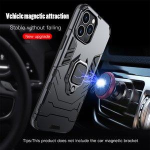 Stand Keysion À prova de choque anel caixa de armadura pro max telefone de silicone tampa traseira para telefone 12 mini i12 2020 novo