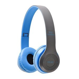 P47 Foldable Game Wireless Bluetooth Headset Music Stereo Mobile Phone Headphone Gaming Computer Phone MP3 Universal Headset New Y1128