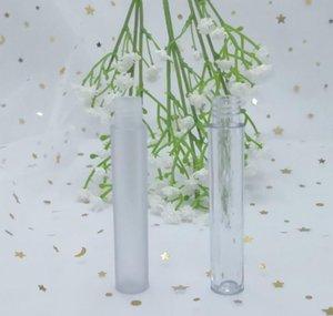 50pcs Empty Clear L Empty Lip Gloss Tube, Elegant Frosted Plastic Liquid Lipstick Container, Diy Round jllmKc allguy