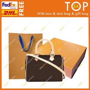 السيدات أزياء عالية الجودة حقيبة الكتف نانو سبيدي m61252 / زهرة الشطرنج boston حقيبة حمل حقيبة / مع هدية مربع dhl فيديكس شحن مجاني