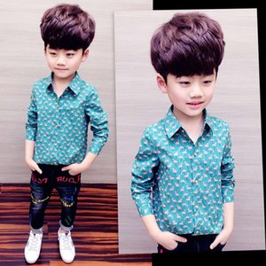 sve 2020 new long middle school top Children's summer boys' shirt fashion