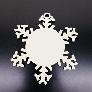 Подгонянные пустые снежинки кулон елочные украшения висит украшения DIY праздничные моды экологически чистые 2 1bda uu