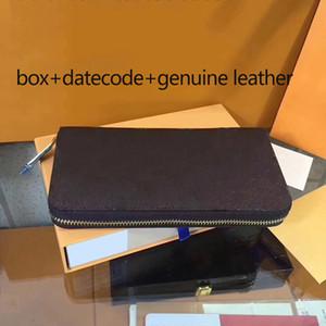 Rose Sugao portefeuille de luxe portefeuille véritable cuir de haute qualité imprimé fleur hommes et femmes portefeuilles sacs à main d'embrayage et sac à main