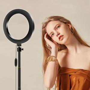 New 20cm LED Makeup Lamp Ringlight for Beauty of Selfie Video on YouTube Tiktok Ring Light for Photographic Lighting of Photo Studio