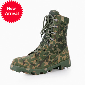 Camouflage Combat Boots From Ultra Light Men Shoes Man High-top Tactical In the Free Air Desert Military Special Forces