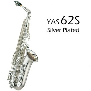New Product Alto Saxophone Silver Plated Eb Tune E Flat Professional Musical Instrument With Case Free Shipping