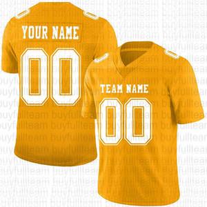 Design personalizado seu próprio jersey de futebol laranja