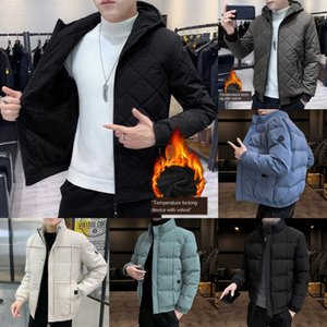 LT31 OLN OLN OMN Men Hommes Hiver Jacket à capuche Thermique Down Coton Parkas Mâle Sweats à Sweats à Sweats à Sweats à manches décontractées 5x