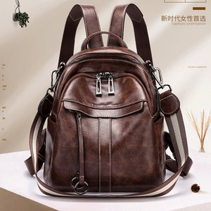 New Fashion Women's Backpack Mini Soft Touch Multi-Function Small Backpack Female Ladies Shoulder Bag Girl Purse