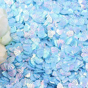 20g funkeln shelltisch konfetti strepples junge mädchen baby shower party hochzeit dekor glitter rosa blau gold silber metallic 7mm