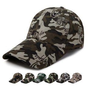 7 Stilleri Ordu Fan Snapbacks Güneş Şapka Taktik Kamuflaj Şapka Açık Spor Camo Beyzbol Şapkası Cyz2944
