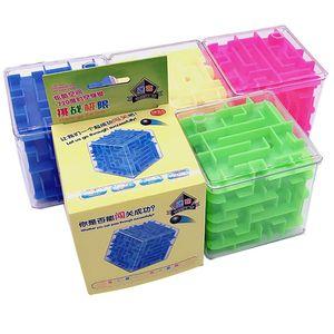 8cm Puzzle Cube Explore Magic Rubik Educational Brain Strom Kids Game Puzzle Game Toys Good Gift Toy