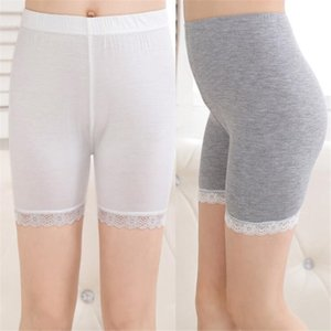 2021 Kids Girls Leggings Children Short Pants Pure Color Capris Girl Lace Kid Breathe Freely Trousers Cotton Pantyhose
